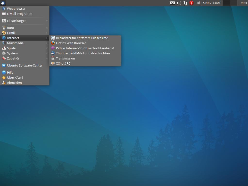 Bild Xubuntu